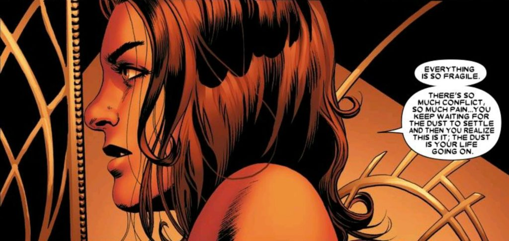 Kitty Pryde - The dust is your life going on.