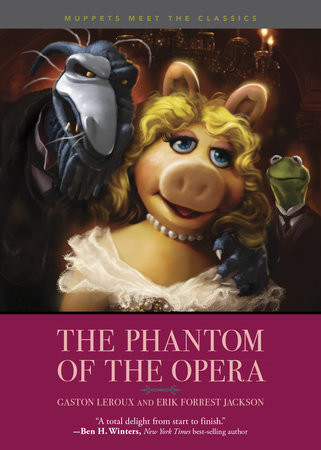 Cover of the novel Muppets Meet the Classics: The Phantom of the Opera