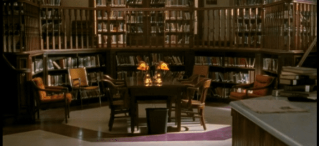The Sunnydale High School Library